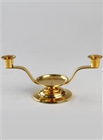 CANDLE STAND BRASS LARGE