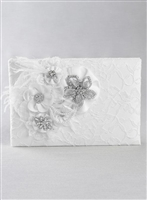 GE GUEST BOOK WHITE