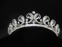 KATE MIDDLETON Bridal Tiara Antique Silver