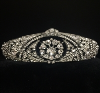 MEGHAN MARKLE Bridal Tiara Antique Silver