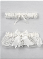 CHANTILLY LACE GARTER