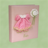 BABY BOOK DRESS & HAT