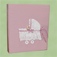 BABY BOOK PINK CARRIAGE